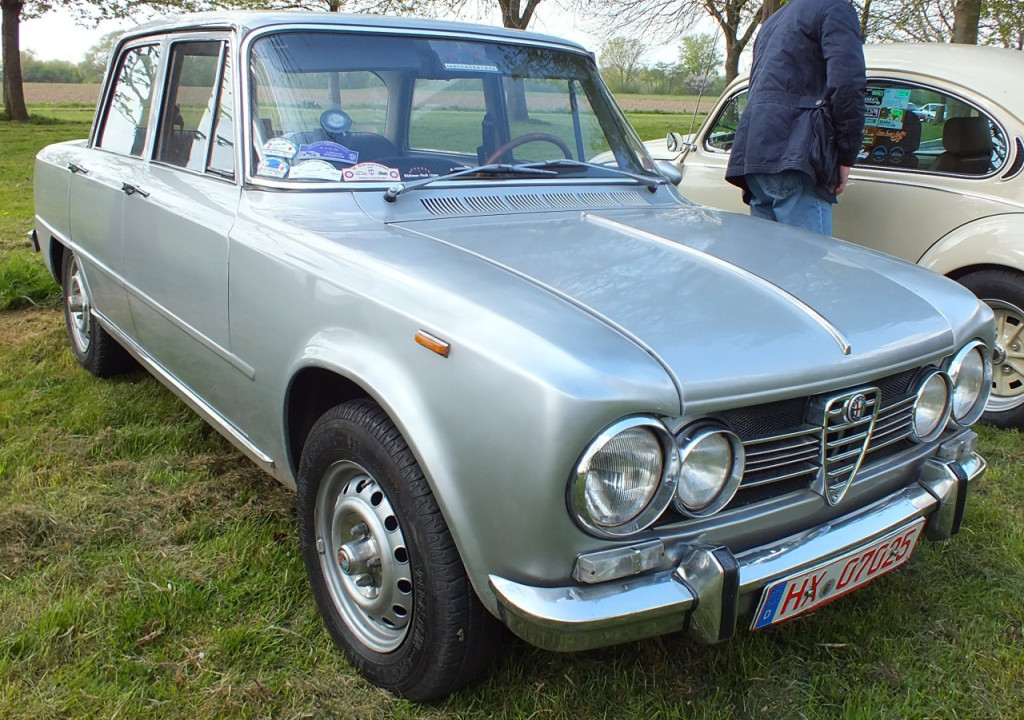 Eine Alfa Romeo Giuila. Schön!