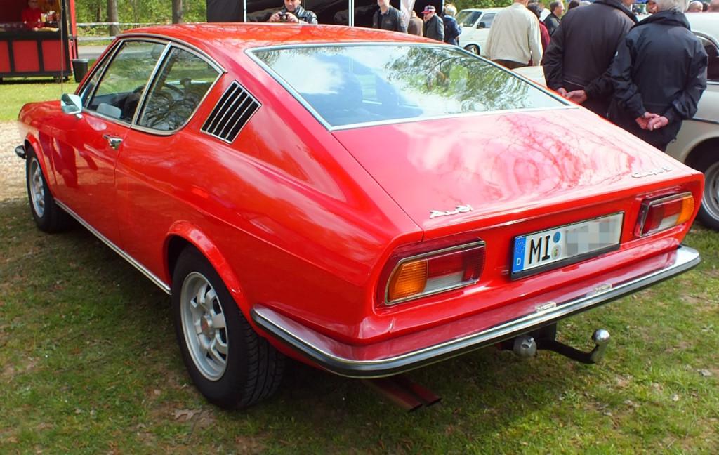 Ein wunderschönes Audi Coupé.