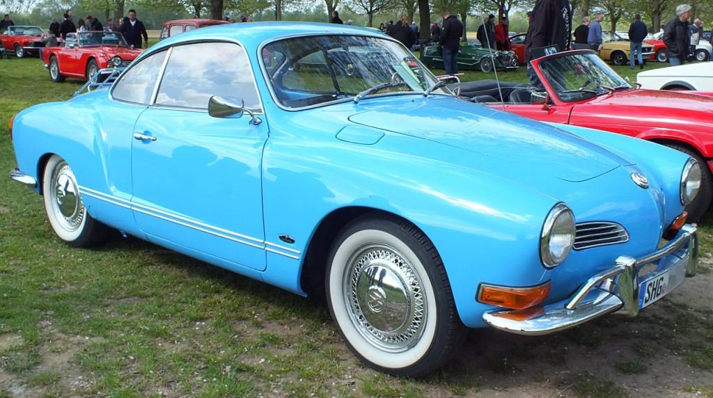 Wohl eines der schönsten Autos, die gebaut wurden: Karmann Ghia