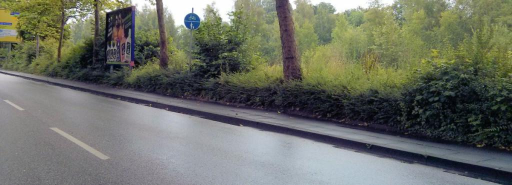 Zeichen 240 an der Weserstraße