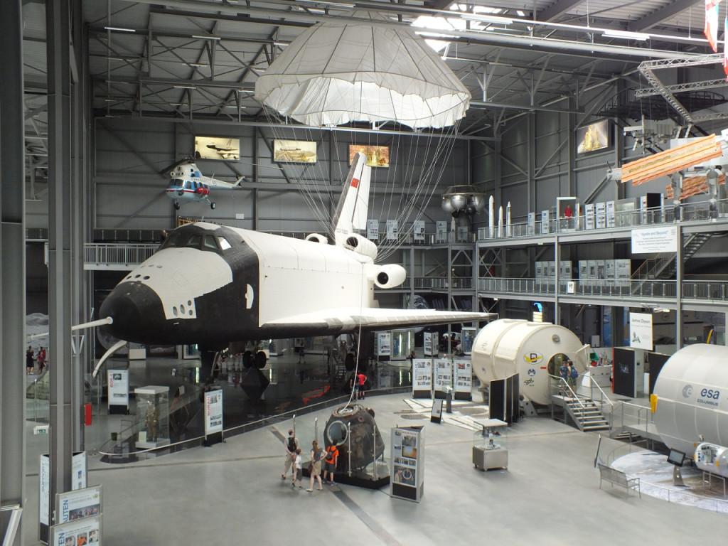 Die Buran im Technik-Museum in Speyer