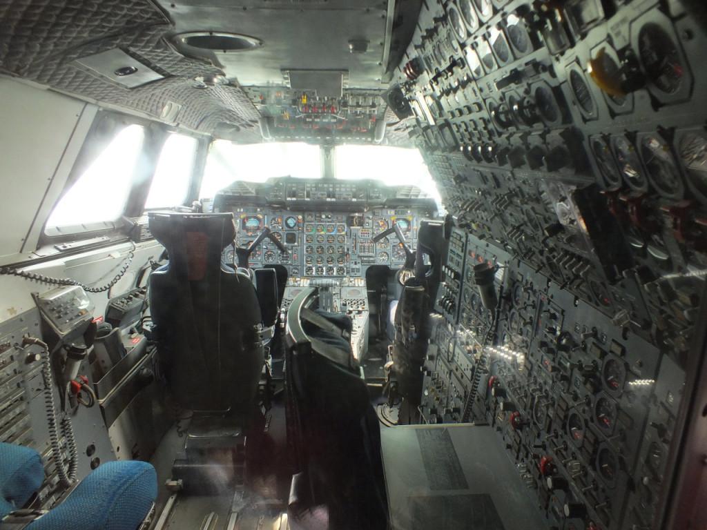 Cockpit der Concorde - Tim der traut sich was!