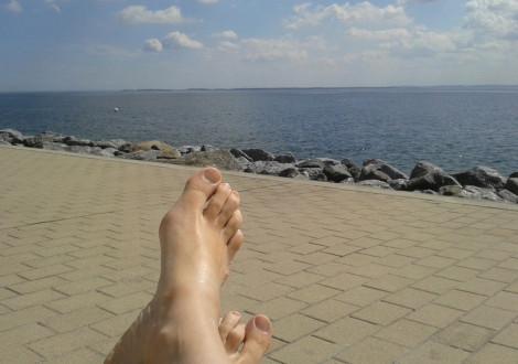 Nix tun und auf's Meer gucken