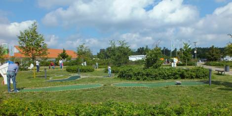 Minigolfanlage im Dorfhotel