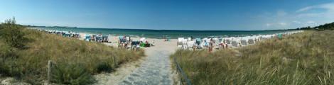 Strandabschnitt im eigentlichen Ort Boltenhagen