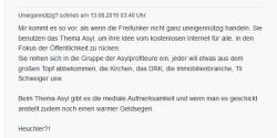 Anonymer Kommentator auf NDR