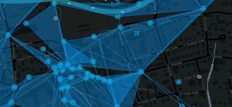 Innenstadt von Bad Oeynhausen in der Intel-Map