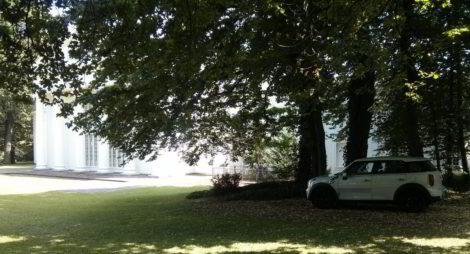 Parkplatz im Kurpark