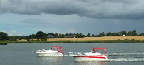 Boote auf der Schlei
