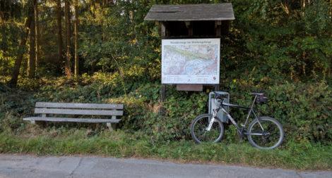 Wanderparkplatz in Dehme
