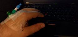 Zugang in der Hand