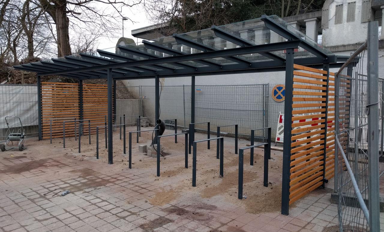 Fahrradstander Am Bahnhof Mein Senf