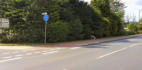 Schwagerstraße Ecke Eidinghausener