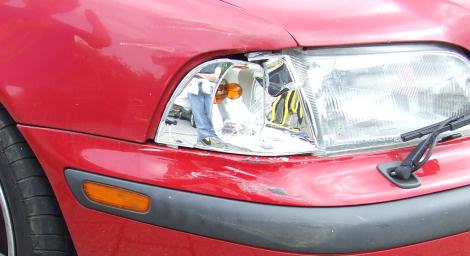 Volvo V40 Blinker rechts vorne nicht mehr ganz funktional