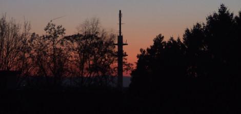 Abendrot - Blick nach Westen