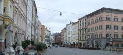 Der Inn hinter Innsbruck