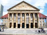 Die Stadthalle in Kassel